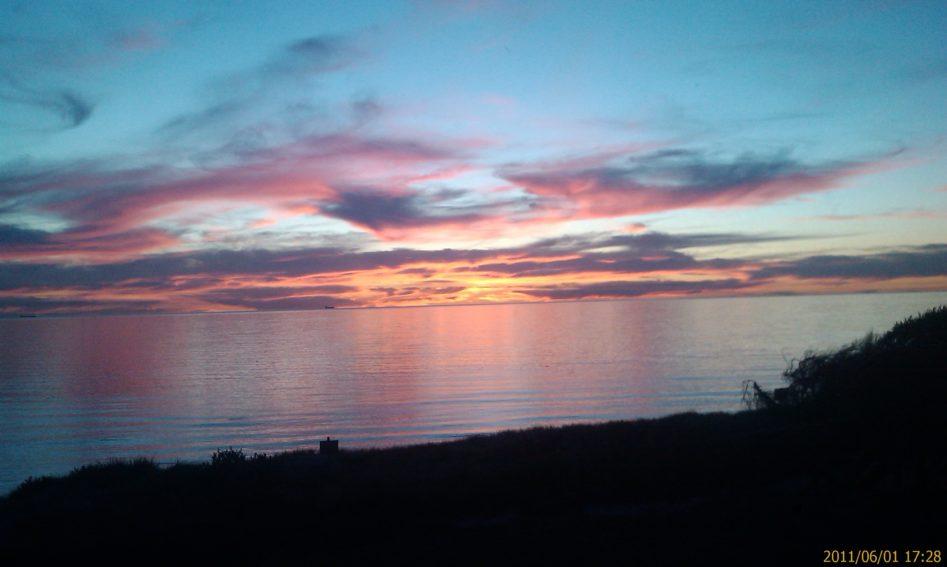 Birthday Sunset Lisa Page