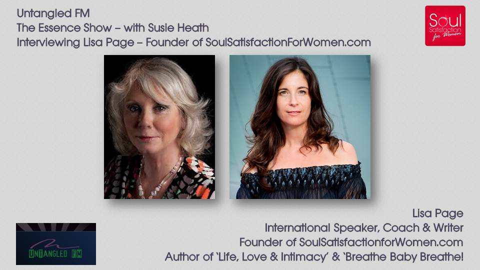 Full Length Interview: 'Untangled FM the threads of tension in your life, love and intimacy' by Lisa Page